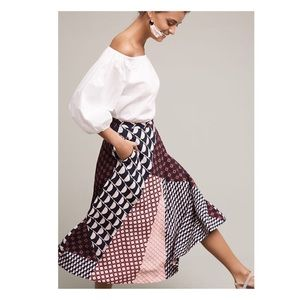 Marilyn Dot Midi Skirt